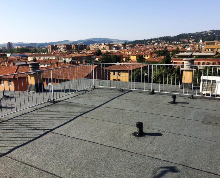 rivestimento termoriflettente per tetti